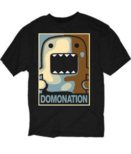 Domo Adult T-Shirt Domonation