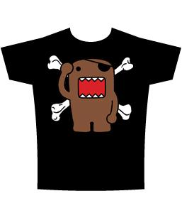Domo Adult T-Shirt Domo Pirate
