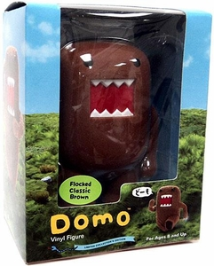 Domo 4 Inch Flocked Vinyl Figure Classic Brown