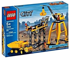 LEGO City Set #7243 Construction Site