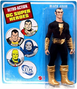 DC Universe World's Greatest Super Heroes Retro Series 4 Action Figure Black Adam