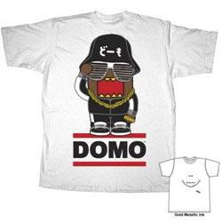 Domo Adult T-Shirt Hip Hop Domo
