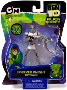 Ben 10 Alien Force Series 5 Keychain Forever Knight