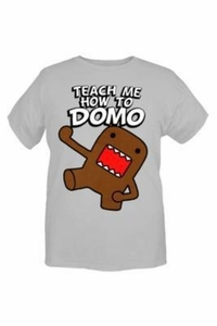 Domo Adult T-Shirt How To Domo