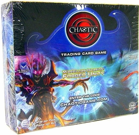 Chaotic Card Game Series 7 M'arrillian Invasion: Forged Unity Booster Box [24 Packs]