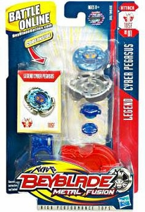 Beyblades Metal Fusion Attack Battle Top #BB01 Cyber Pegasus [Legend]