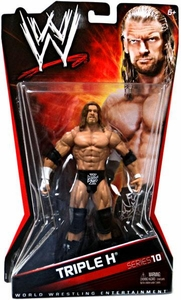Mattel WWE Wrestling Basic Series 10 Action Figure Triple H