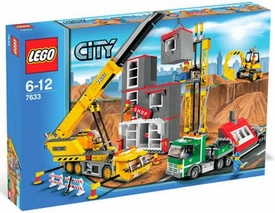 LEGO City Set #7633 Construction Site
