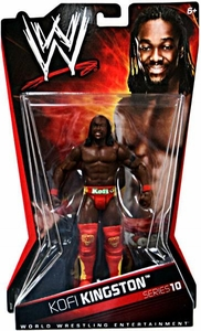Mattel WWE Wrestling Basic Series 10 Action Figure Kofi Kingston