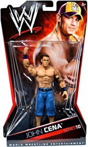 Mattel WWE Wrestling Basic Series 10 Action Figure John Cena BLOWOUT SALE!