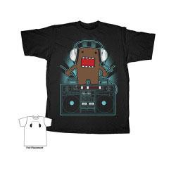 Domo Adult T-Shirt Domo Sounds