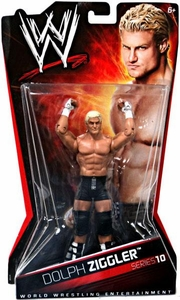 Mattel WWE Wrestling Basic Series 10 Action Figure Dolph Ziggler