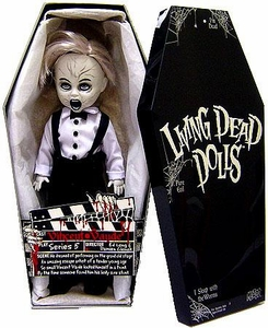 Mezco Toyz Living Dead Dolls Exclusive Series 5 Mystery Doll Vincent Vaude Black & White Exclusive