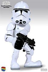 Star Wars Figure Medicom Vinyl Collectible Figure Super Deformed Clonetrooper