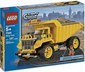LEGO City Set #7344 Dump Truck
