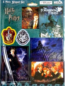 Harry Potter NECA 8-Piece Magnet Sheet