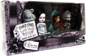 Mezco Toyz Living Dead Dolls Exclusive Minis Christmas Box Set Xmas Carol
