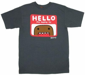 Domo Adult T-Shirt I Am Domo
