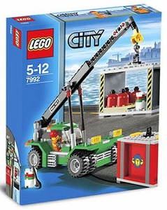 LEGO City Set #7992 Container Stacker
