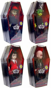 Mezco Toyz Living Dead Dolls 2009 SDCC San Diego Comic-Con Exclusive Set of 4 Resurrection Figures