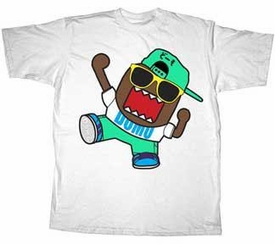 Domo Adult T-Shirt Domo Can Dance