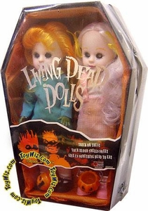 Mezco Toyz Living Dead Dolls Exclusive Halloween 2 Pack Hemlock & Honey