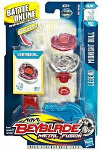 Beyblades Metal Fusion Balance Battle Top #BB02 Midnight Bull [Legend]