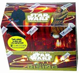 Star Wars Trading Card Game Sith Rising Booster BOX