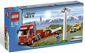 LEGO City Exclusive Set #7747 Wind Turbine Transport