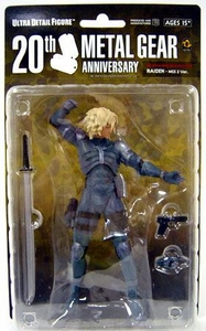 Metal Gear Solid Medicom 7 Inch Series 1 Collectible Figure Raiden [MGS2]