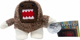 Domo 4 Inch Plush Figure Clip On Sock Monkey Domo