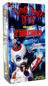 Mezco Toyz Living Dead Dolls Exclusive Figure Captain Spaulding [House of 1000 Corpses]