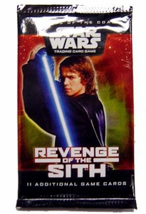 Star Wars Trading Card Game Revenge of the Sith Booster Pack