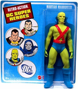 DC Universe World's Greatest Super Heroes Retro Series 4 Action Figure Martian Manhunter
