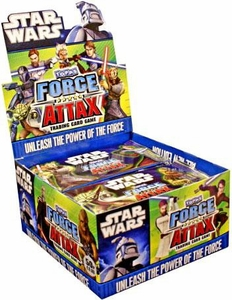 Star Wars Clone Wars Topps Force Attax Trading Card Game Booster BOX [50 Packs]