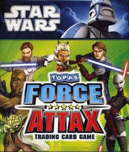 Star Wars Clone Wars Topps Force Attax Trading Card Game Collector Guide [Collector Binder, Guide, Game Mat, 4 packs & 1 Limited Edition Card]