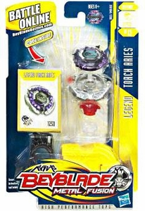 Beyblades Metal Fusion Defense Battle Top #BB13 Torch Aries [Legend]