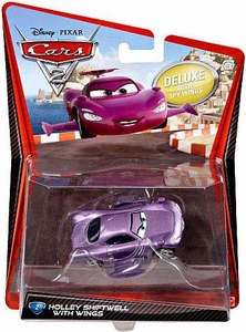Disney / Pixar CARS 2 Movie 1:55 Die Cast Car Oversized Vehicle #2 Holley Shiftwell with Wings