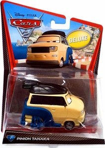 Disney / Pixar CARS 2 Movie 1:55 Die Cast Car Oversized Vehicle #7 Pinion Tanaka