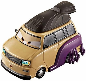 Disney / Pixar CARS 2 Movie 1:55 Die Cast Car Oversized Vehicle #5 Kingpin Nobunaga
