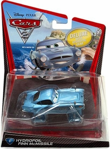 Disney / Pixar CARS 2 Movie 1:55 Die Cast Car Oversized Vehicle #6 Hydrofoil Finn McMissile