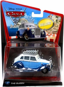 Disney / Pixar CARS 2 Movie 1:55 Die Cast Car Oversized Vehicle #10 Queen