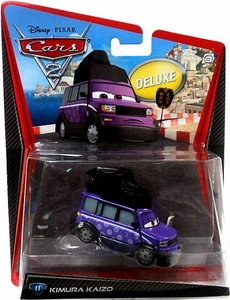 Disney / Pixar CARS 2 Movie 1:55 Die Cast Car Oversized Vehicle #11 Kimura Kaizo