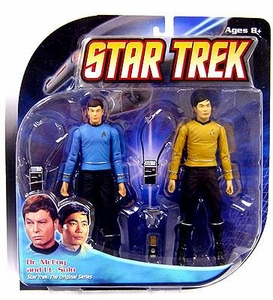Diamond Select Toys Star Trek The Original Series Action Figure 2-Pack Dr. McCoy & Lt. Sulu