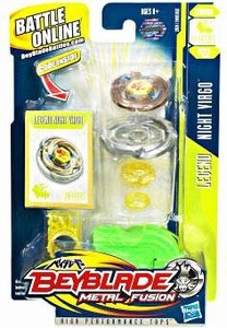 Beyblades Metal Fusion Stamina Battle Top #BB22 Night Virgo [Legend]