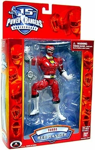 Power Rangers 15th Anniversary Special Edition Action Figure Turbo Red Ranger