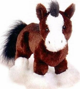 Webkinz Plush Clydesdale Horse