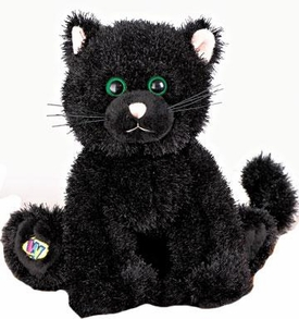Webkinz Plush Black Cat