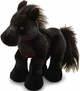 Webkinz Plush Black Friesian [Stallion]
