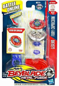 Beyblades Metal Fusion Attack Battle Top #BB27 Fury Capricorn [Legend]
